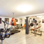salle de sport dans une maison booa