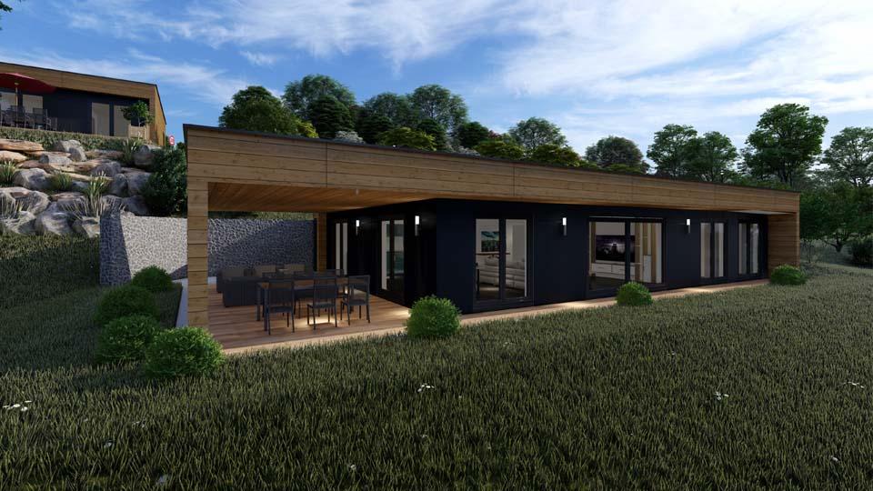 maison à ossature bois Haut-Rhin